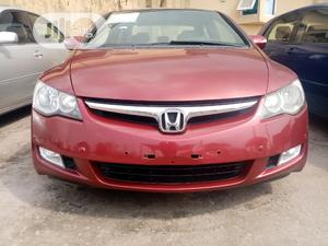Honda Civic 2007 Hybrid CVT Automatic-Pzev Red | Cars for sale in Lagos State, Ajah