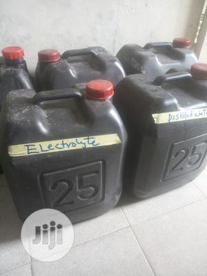 Distilled Water/Electrolytes for Tubular Battery Maintenance | Electrical Equipment for sale in Lagos State, Orile