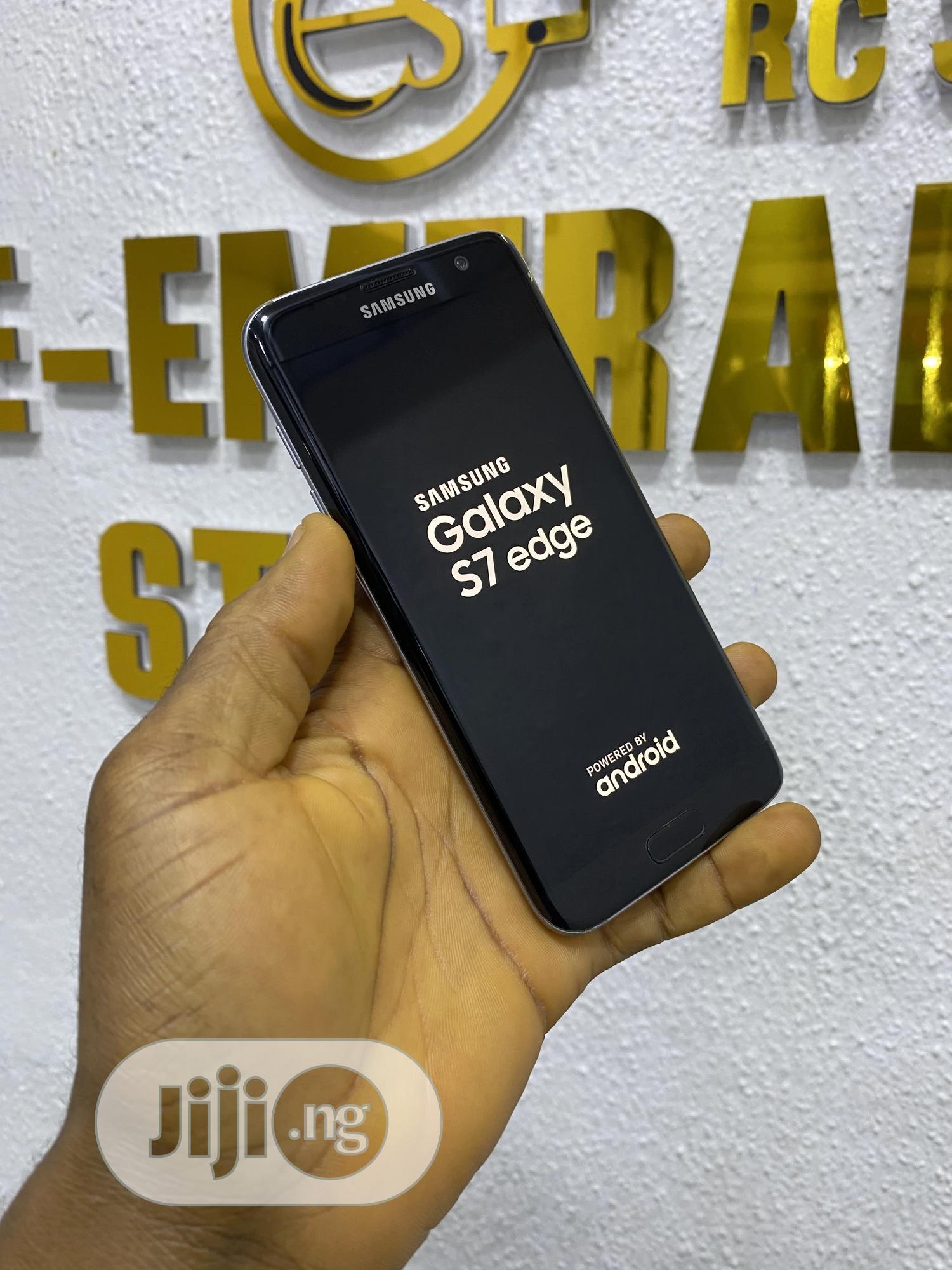 Samsung Galaxy S7 edge 32 GB Black | Mobile Phones for sale in Ikeja, Lagos State, Nigeria