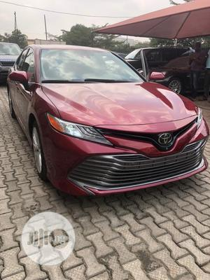 Toyota Camry 2018 XLE FWD (2.5L 4cyl 8AM) Red | Cars for sale in Lagos State, Ikeja