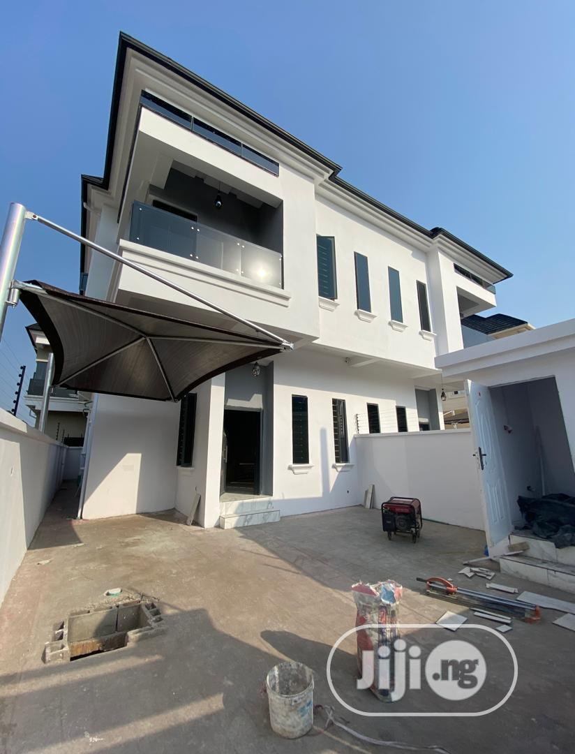 Archive: 4bedroom Terrace Detached Duplex With a Bq