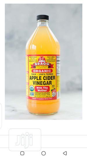 Bragg Organic Apple Cider Vinegar - 473ml | Vitamins & Supplements for sale in Lagos State, Shomolu