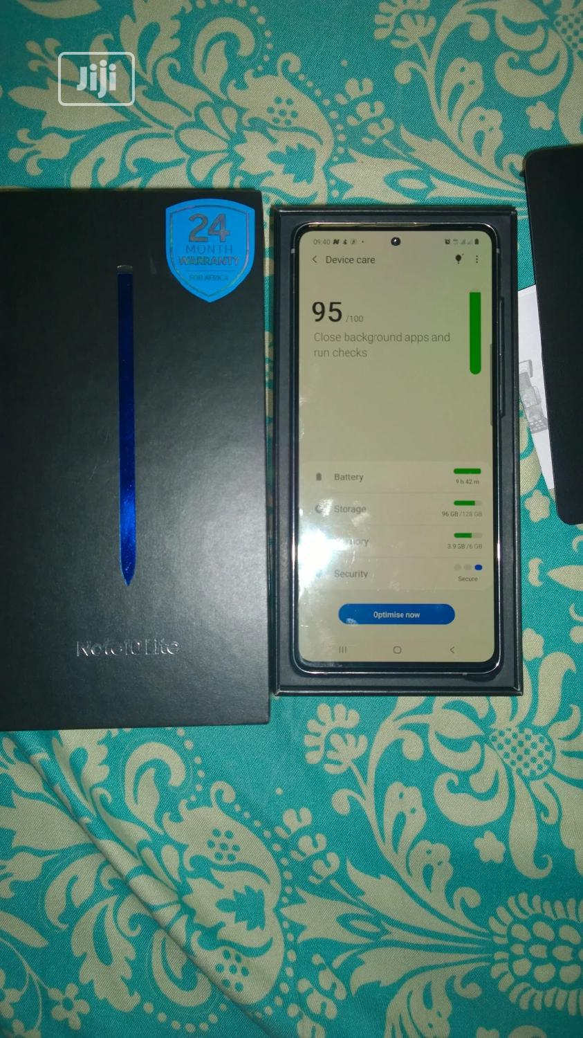 Samsung Galaxy Note 10 Lite 128 GB | Mobile Phones for sale in Ikeja, Lagos State, Nigeria