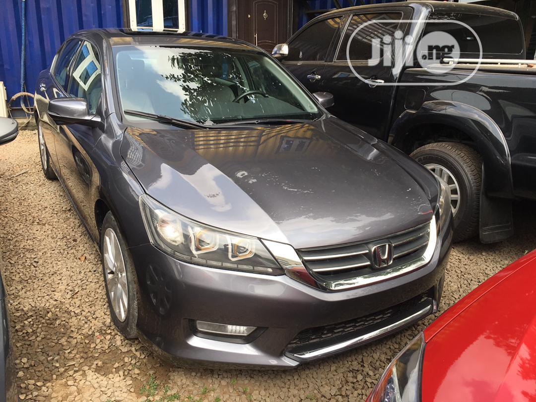 Honda Accord 2013 Gray | Cars for sale in Ikeja, Lagos State, Nigeria