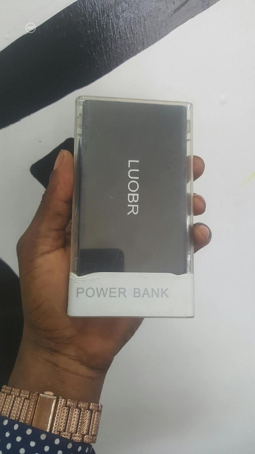 Loubr Power Bank Black 5000mh | Accessories for Mobile Phones & Tablets for sale in Ikeja, Lagos State, Nigeria