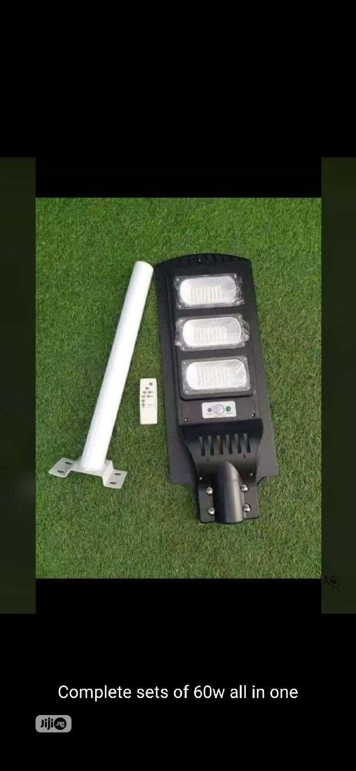 60w All in One Solar Street Light With Pole Is Now Available