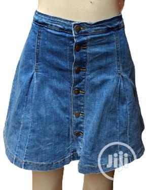 Ladies Denim Skirt With Inner Short   Clothing for sale in Lagos State, Ikeja