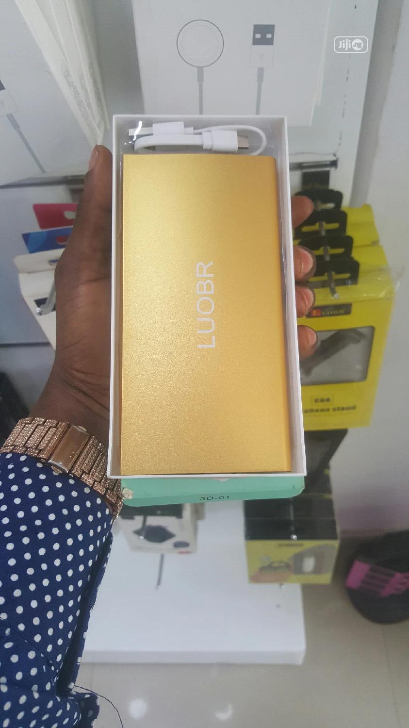 Loubr Power Bank Gold 10000mh