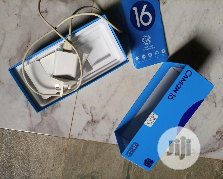 Archive: Tecno Camon 16 Pro 128 GB Blue