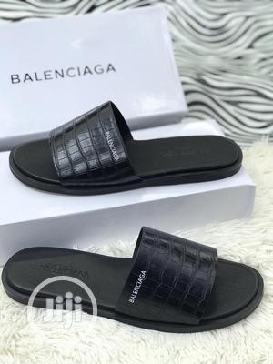 Original Balenciaga Leather Slippers   Shoes for sale in Lagos State, Surulere