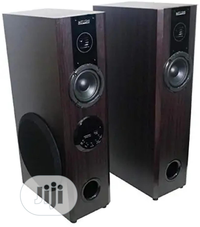 Mitashi TWR 60FUR 5000 Watts PMPO Tower Speakers