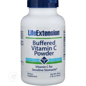 Life Extension Buffered Vitamin C Powder 454 Grams | Vitamins & Supplements for sale in Lagos State, Amuwo-Odofin