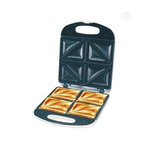 Large Electric 4 Slice Bread Toaster/ Sandwich Maker | Kitchen Appliances for sale in Lagos State, Lagos Island (Eko)