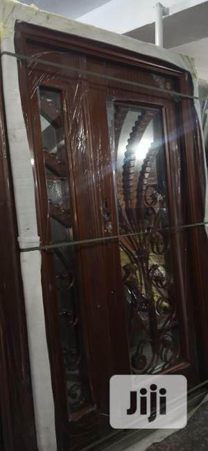 4ft by 7ft Copper Security Door With Glass   Doors for sale in Lagos State, Orile