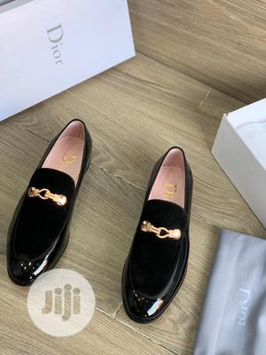 Original Christian Dior Black Suede Loafers Shoes Available   Shoes for sale in Lagos State, Surulere