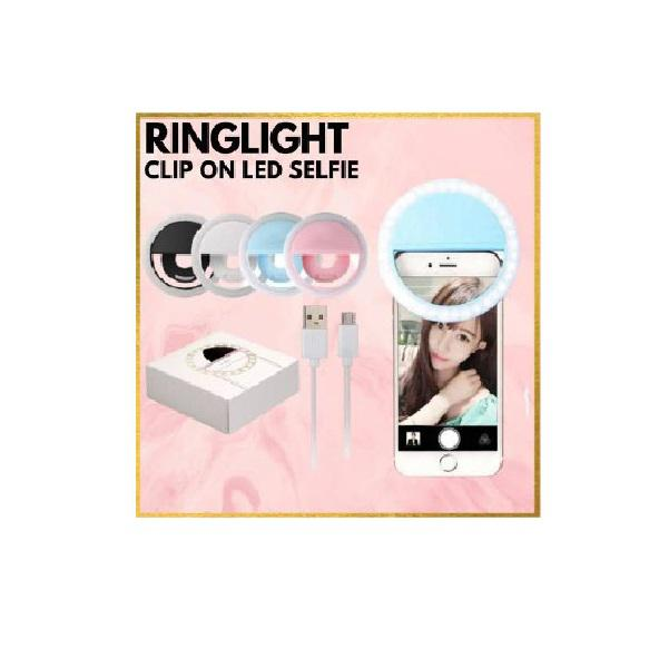 Selfie Ring Light Rechargeable