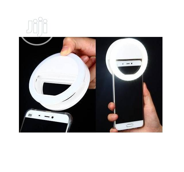 Selfie Ring Light Rechargeable | Accessories for Mobile Phones & Tablets for sale in Ikeja, Lagos State, Nigeria