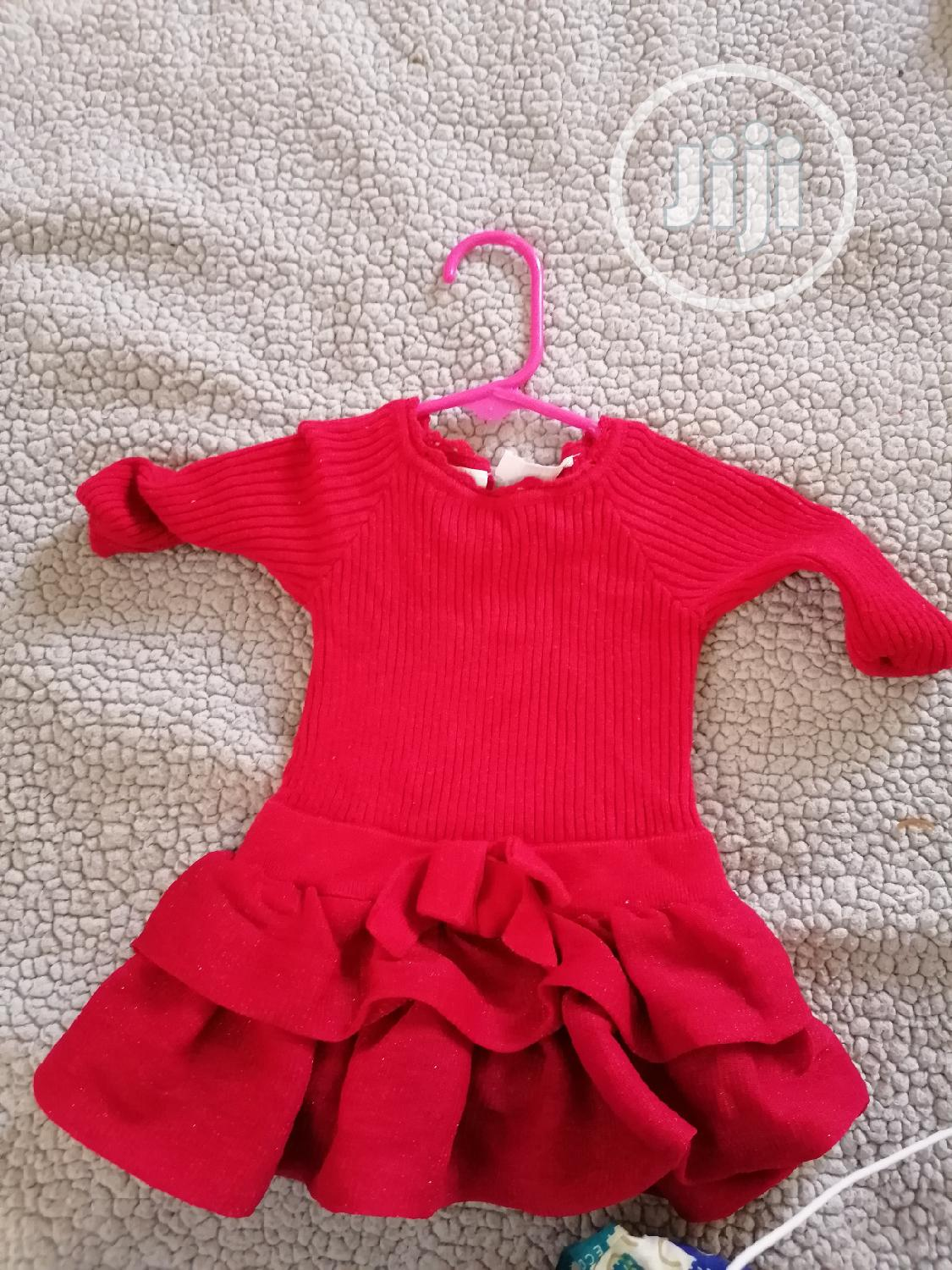 Red Lovely Dress | Children's Clothing for sale in Ajah, Lagos State, Nigeria