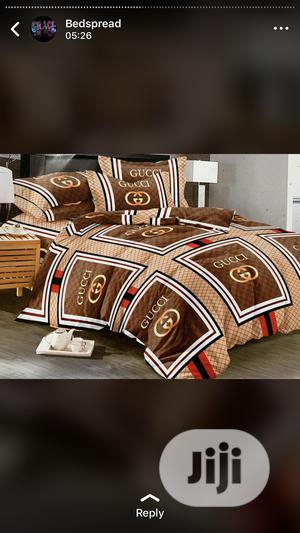 Bedspread, Duvet With Four Pillow Cases | Home Accessories for sale in Lagos State, Abule Egba