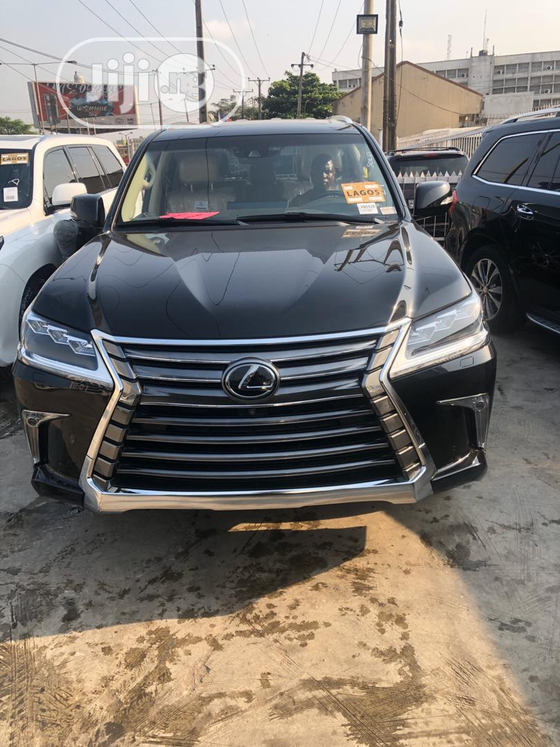 Lexus LX 2018 570 Three-Row Black