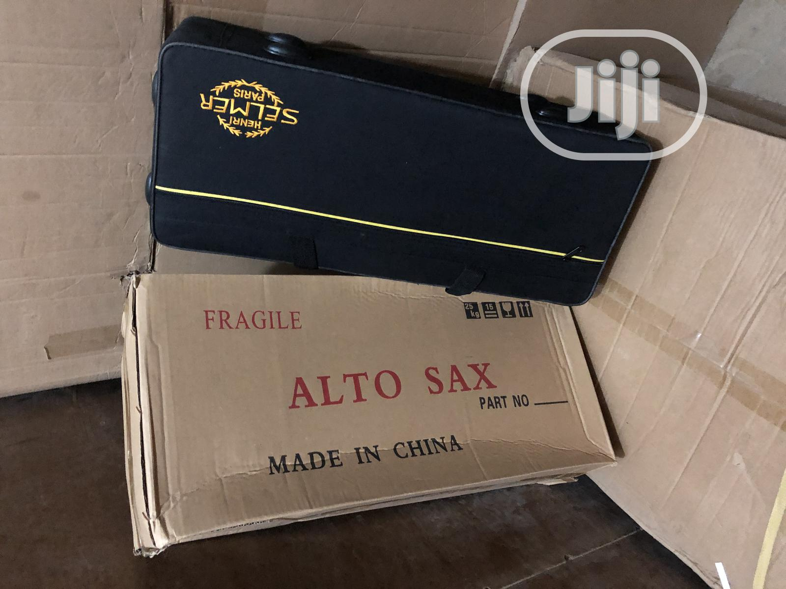 The Best Quality Selmer Alto Saxophone White As Gold Colour | Musical Instruments & Gear for sale in Ojo, Lagos State, Nigeria