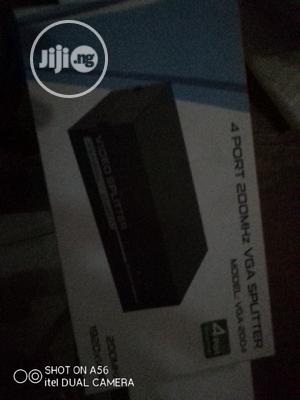 4 Port Vga Spliter   Computer Accessories  for sale in Lagos State, Ikeja