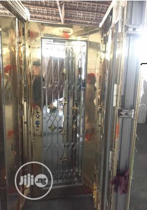 3ft Gold Glass Door.   Doors for sale in Lagos State, Amuwo-Odofin