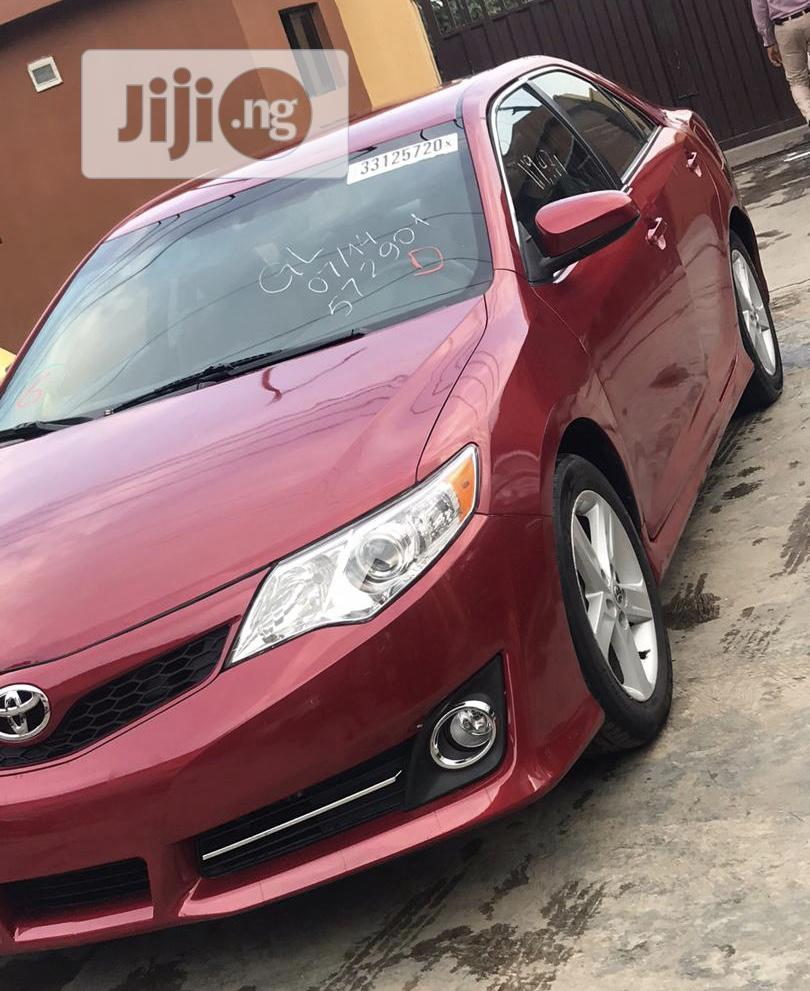 Archive: Toyota Camry 2012 Red
