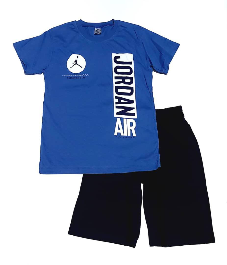 Boys Blue Top and Short Set   Children's Clothing for sale in Surulere, Lagos State, Nigeria