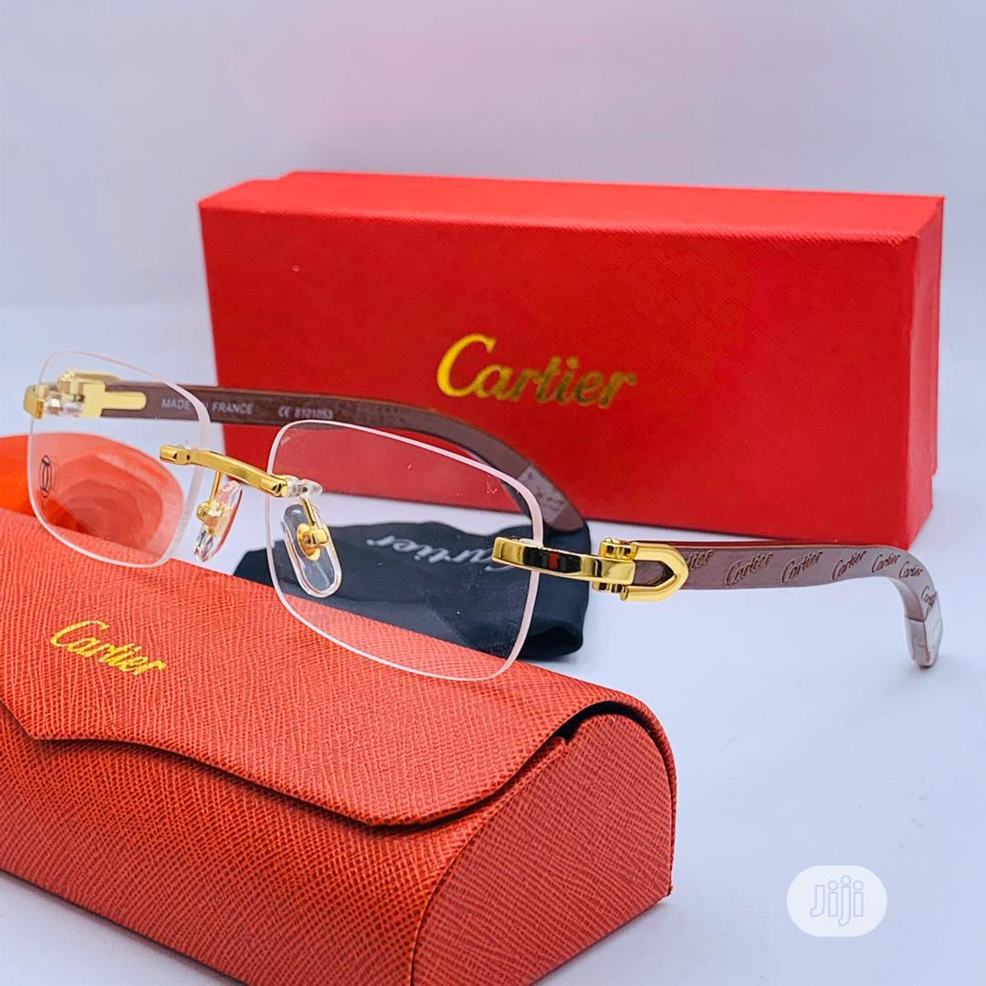 Authentic Cartier Glass