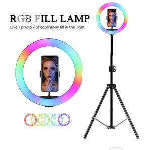 RGB 12 Inches Ring Light With Stand Coloured Light   Accessories & Supplies for Electronics for sale in Lagos State, Ikeja