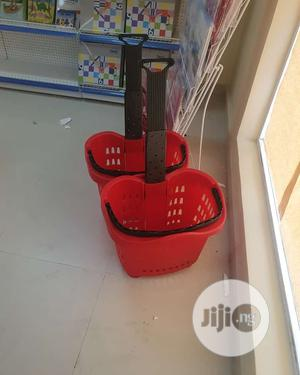 Supermarket Trolley Plastic | Store Equipment for sale in Lagos State, Ojo