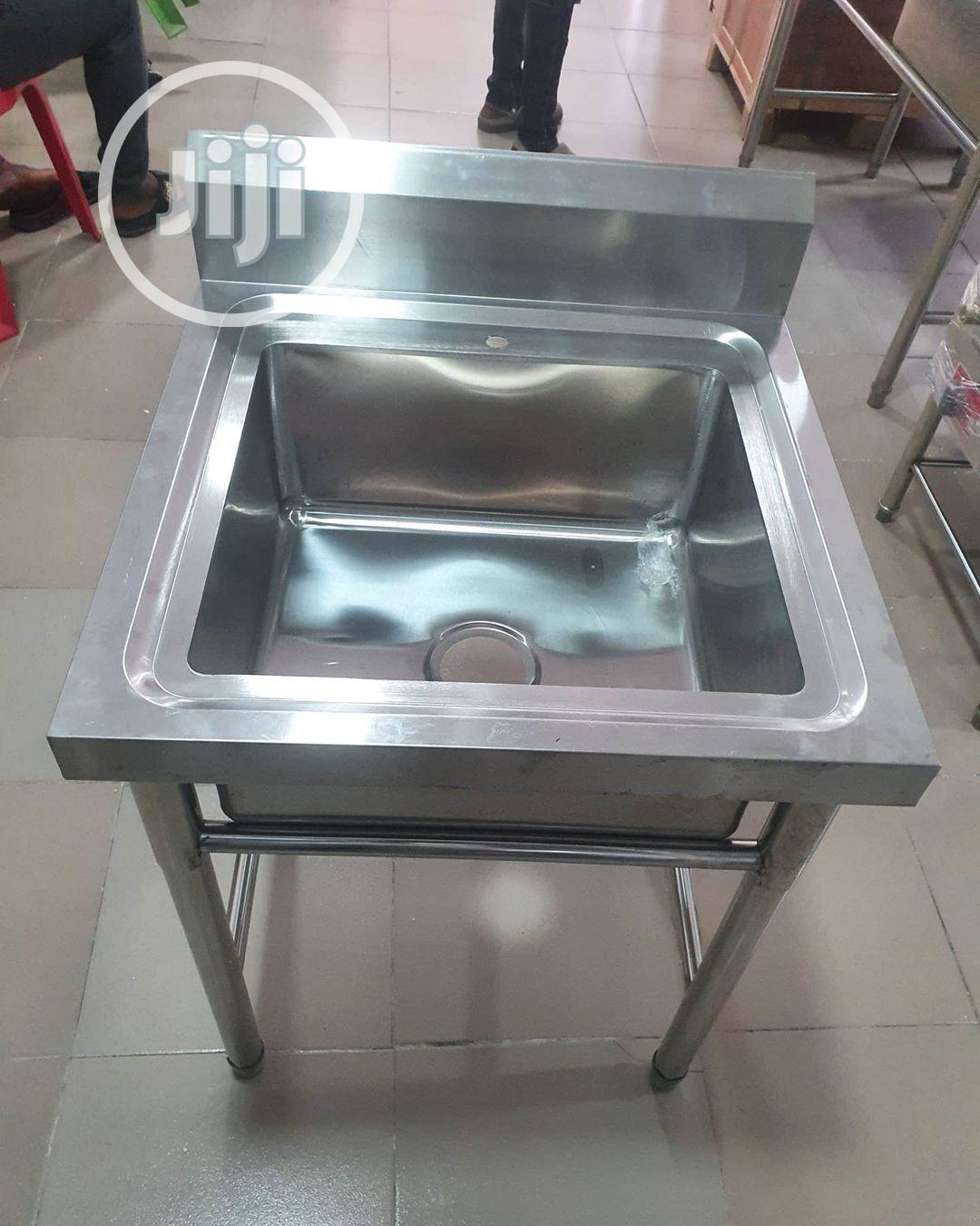 Stainless Steel Kitchen Bowl Single