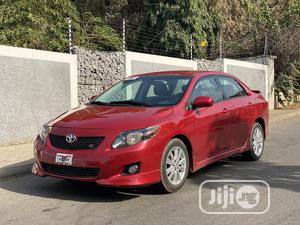 Toyota Corolla 2010 Red   Cars for sale in Abuja (FCT) State, Asokoro