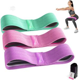 Gluteboost Resistance Bands - Set Of Three Latex Fitness Loo | Sports Equipment for sale in Lagos State, Amuwo-Odofin