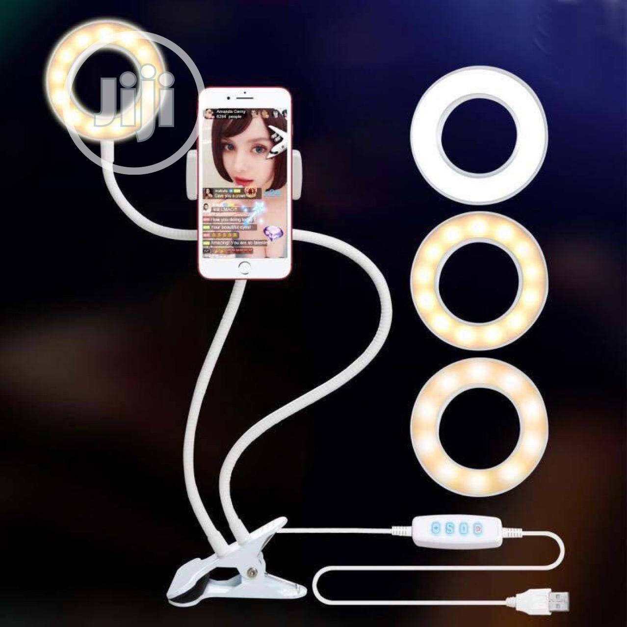Archive: Professional Ring Light With Phone Holder