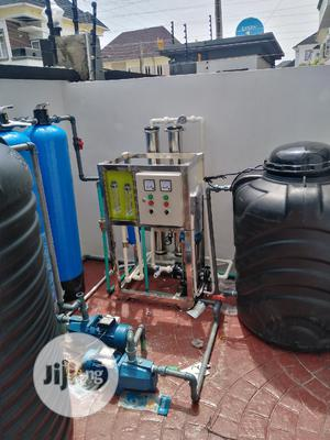 Installation of 500liter Reverse Osmosis With 1354 Fibre   Manufacturing Services for sale in Lagos State, Orile