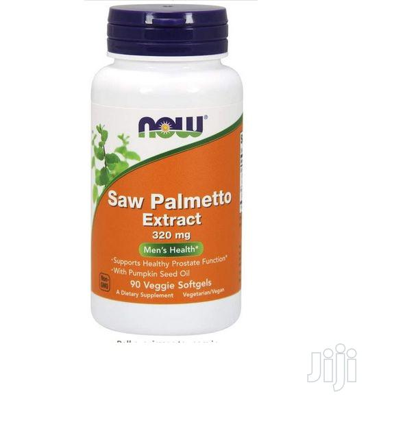 Now Foods Saw Palmetto Extract 320 Mg W Pumpkin Seed Oil 90