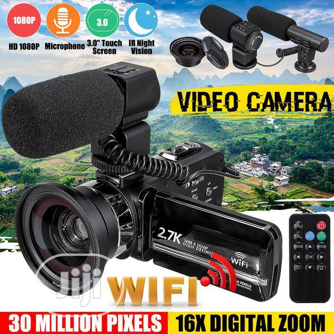 Digital Camera Night Vision Digital Wi-Fi HD DV External Mic