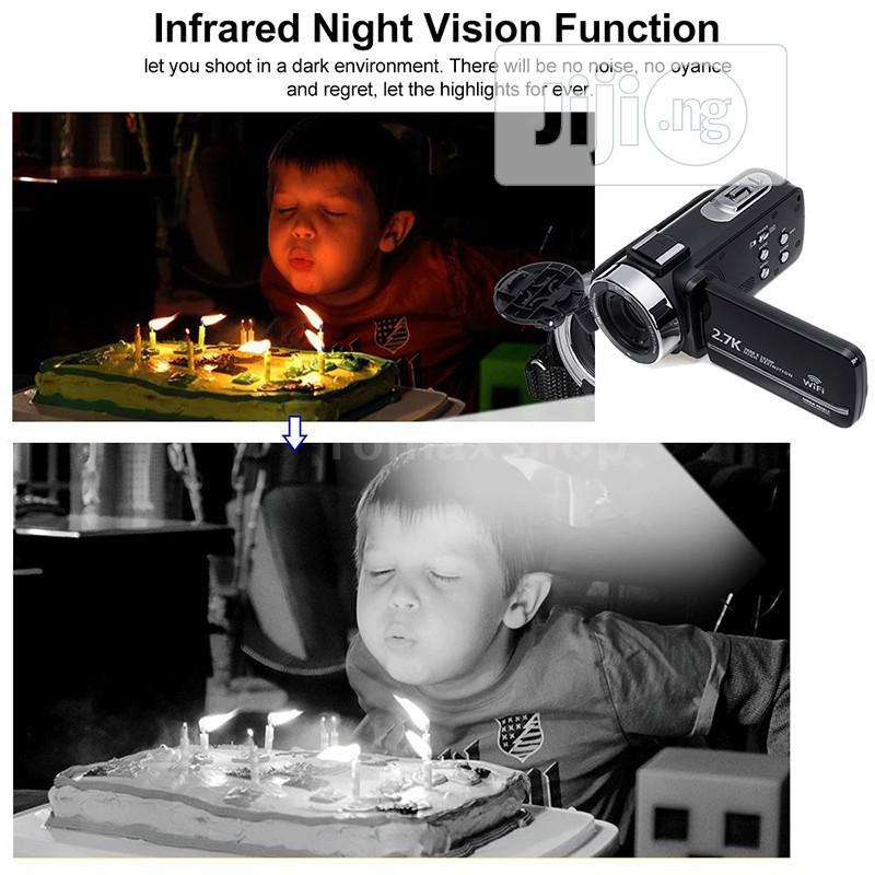 Digital Camera Night Vision Digital Wi-Fi HD DV External Mic | Photo & Video Cameras for sale in Surulere, Lagos State, Nigeria
