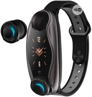 Lemfo LT04, Smart Bracelet Wireless Bluetooth Headset | Headphones for sale in Lagos State, Ikeja