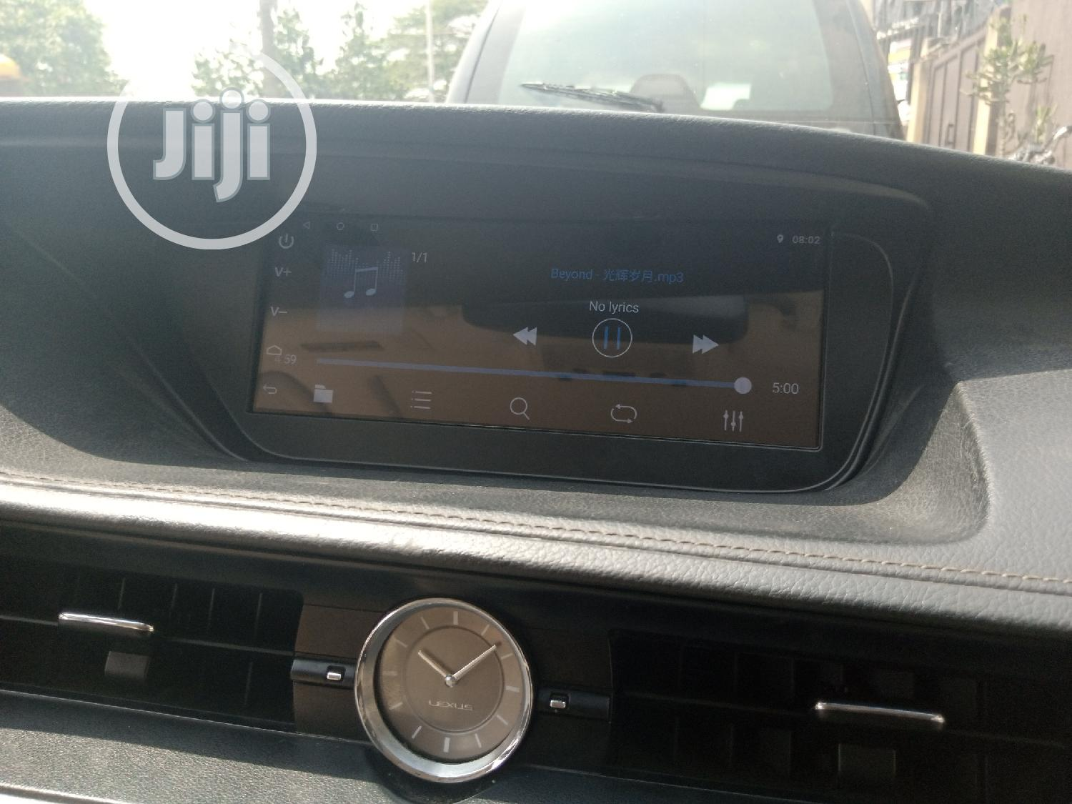 Android Version DVD With Reverse Camera for Es350 2014