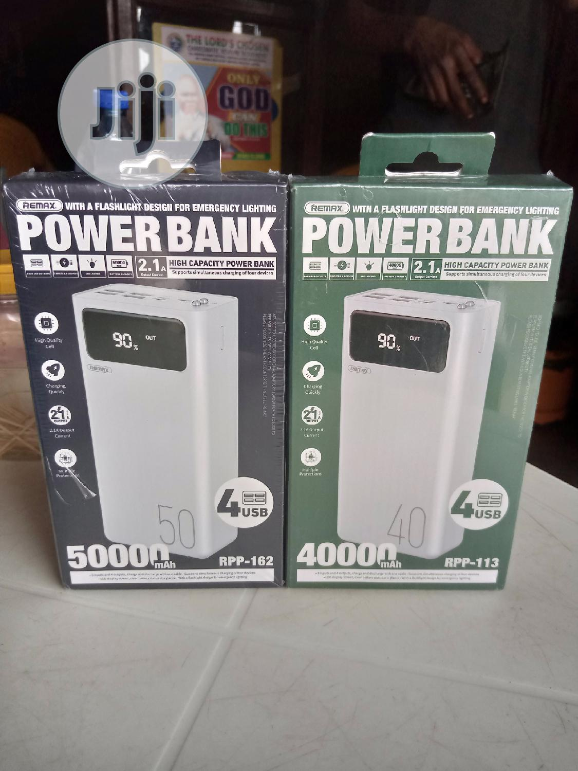 Megatron Mah Remax Powerbank   Accessories for Mobile Phones & Tablets for sale in Ikeja, Lagos State, Nigeria