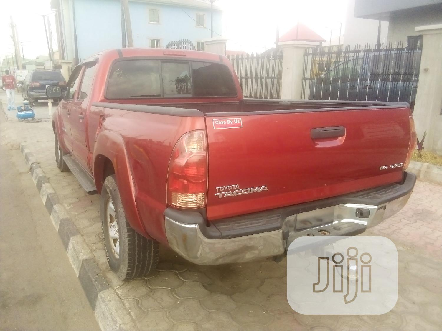 Toyota Tacoma 2008 Red   Cars for sale in Ikeja, Lagos State, Nigeria