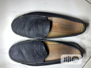 Men'S Navy Blue Authentic Gucci Loafers UK 7   Shoes for sale in Rivers State, Port-Harcourt
