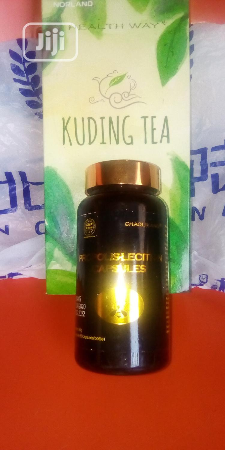 Archive: Propolis Lecithin and Kudding Tea Anti Pain Relieve