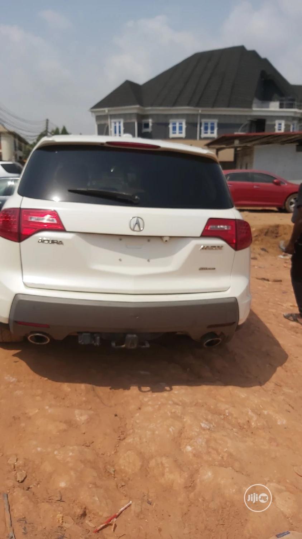 Acura MDX 2008 White   Cars for sale in Ikotun/Igando, Lagos State, Nigeria