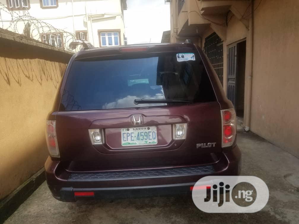Honda Pilot 2005 Red | Cars for sale in Lagos Island (Eko), Lagos State, Nigeria