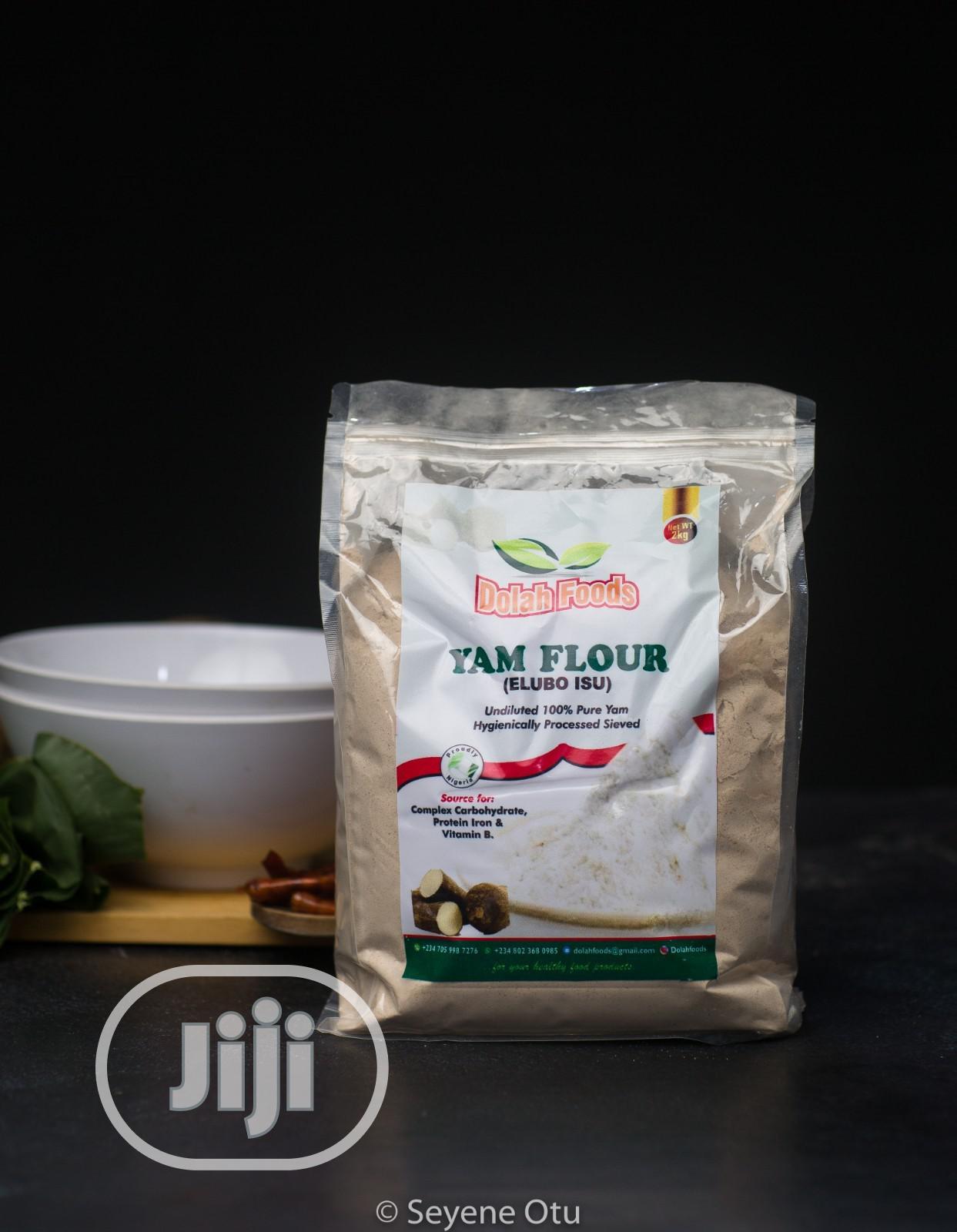 Archive: Yam Flour - Elubo Isu 2kg