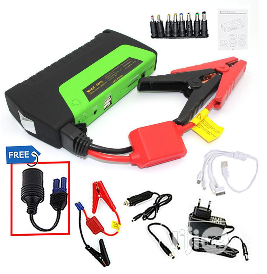 Portable Car Jumper Booster Power Battery Charger Mobile Pho